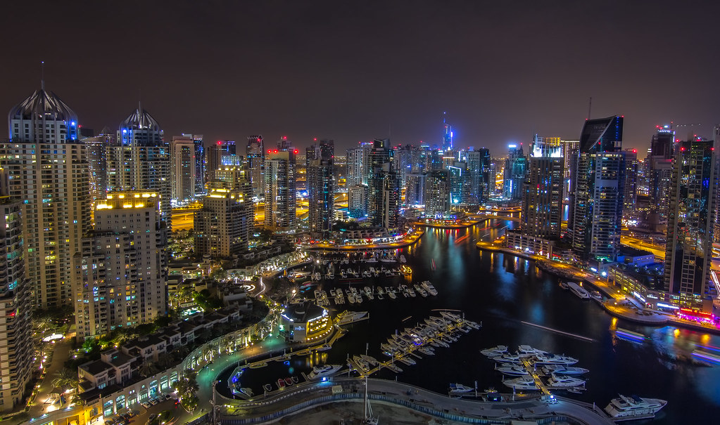 [IMG] Dubai Marina, from the Torch Tower by Damon McDonald, on Flickr[/IMG]