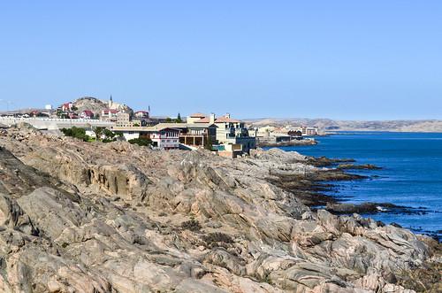 Lüderitz from Shark island