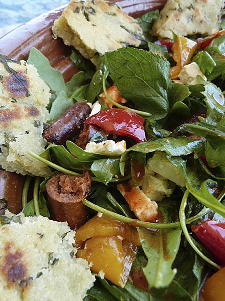 salade de merguez 1