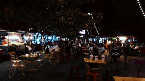 Koh Samui Nathon Food stall サムイ島 ナトンの屋台街
