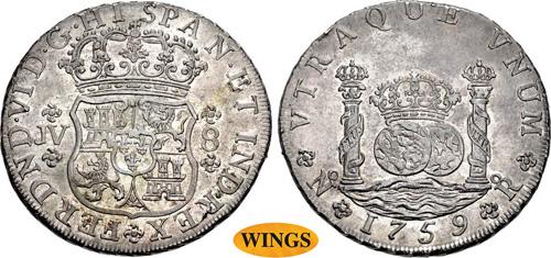 COLOMBIA, Colonial. Fernando VI.