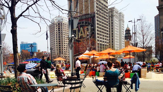 Campus Martius Park, Detroit (by and courtesy of Mark Nickita)