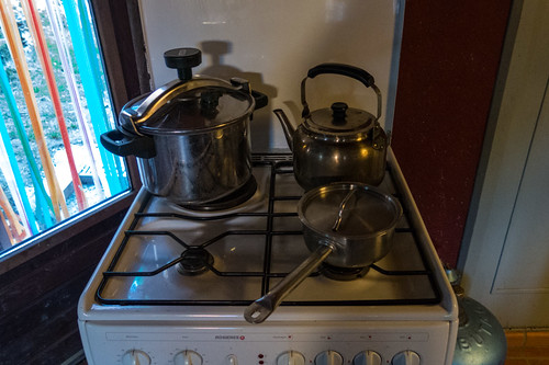 New second hand stove