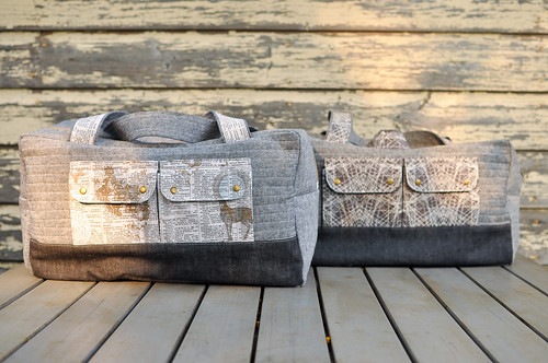Cargo Duffle Bags for Sandra & Ryan