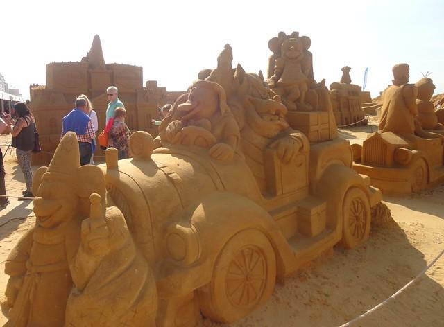 Sculpures sur sable Disney - News Touquet p.1 ! 14953885461_2d5d075b33_z
