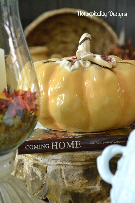 Ceramic Gold Pumpkins/Housepitality Designs