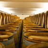 In the chais at Château Lynch Bages. #france #bordeaux #barrels #barrelroom #pauillac #wine #wineries (February 16, 2012, Pauillac, France)