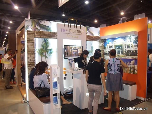 The District Boracay Exhibit Stand