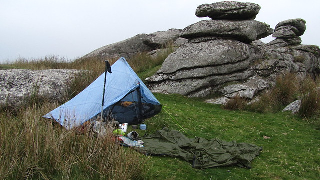 Lower Hartor Tor. Wildcamp.