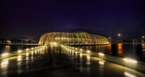 rain night lights university florida polytechnic