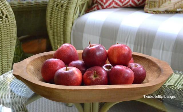 Dough Bowl of Apples-Housepitality Designs