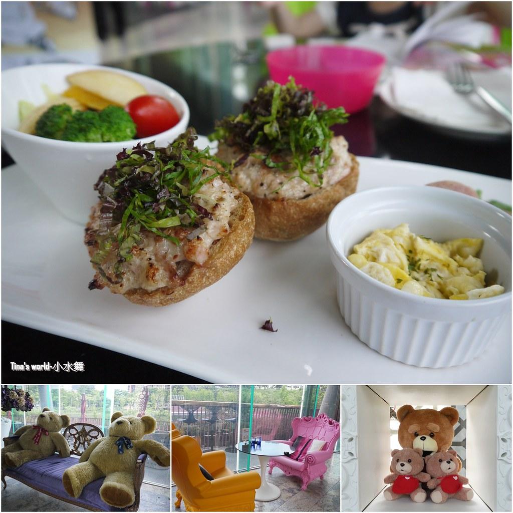 秋紅谷@幸福小水舞.com-意外花少少錢吃到優雅的早午餐