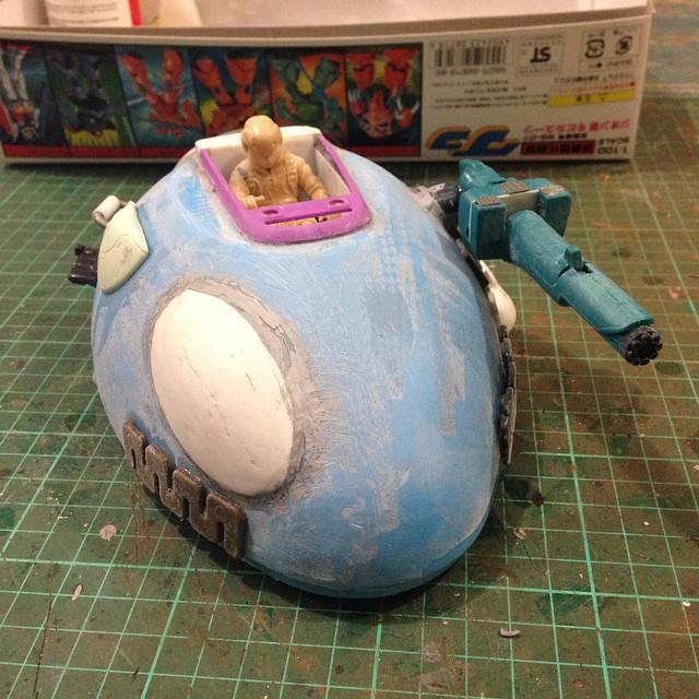 Egg-o with pilot