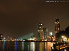 Rotterdam's World Port Days at Night