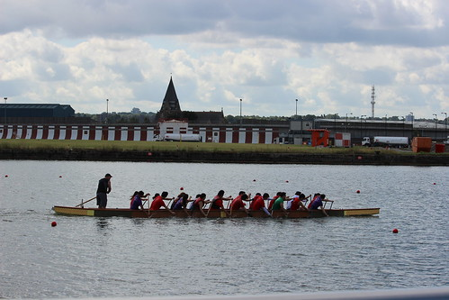 Dragonboating on the Thamas