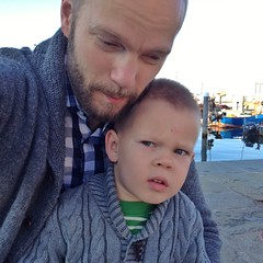 Selfie with son #2