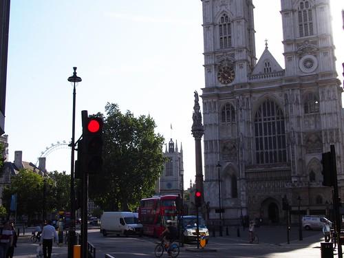 Westminster Abbeyで朝食