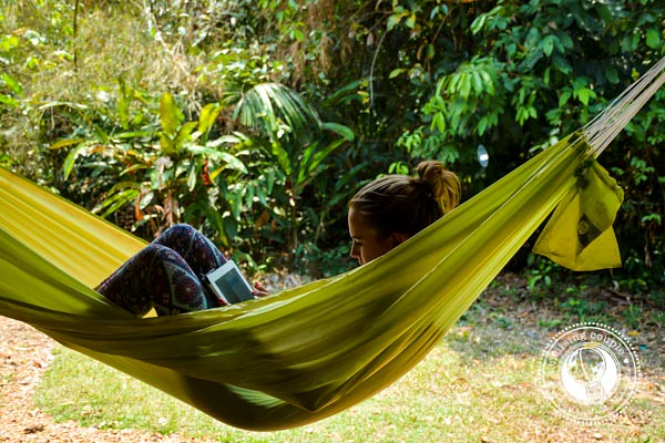 A Cruising Couple in a Hammock in Southern Amazon