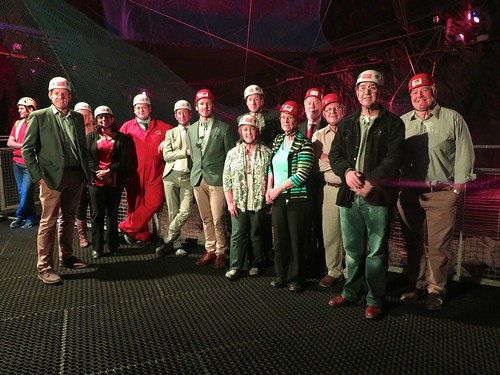 Enterprise and Business Committee visit to Lechwedd Slate Caverns 18/9/2014