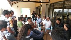 Gobierno de Oaxaca, Taxistas de la Mixteca son atendidos en Nochixtlán - SEGEGO