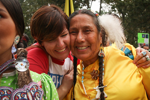 Cowboy & Indian Alliance at the People's Climate March