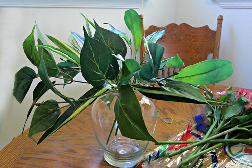 How to Make Your Own Gorgeous Flower Arrangement for Less than $15: Arranging the Greenery