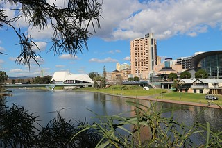 Cliched View of Adelaide Iconic Horizon