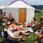 Yurts for Hen Party Accommodation