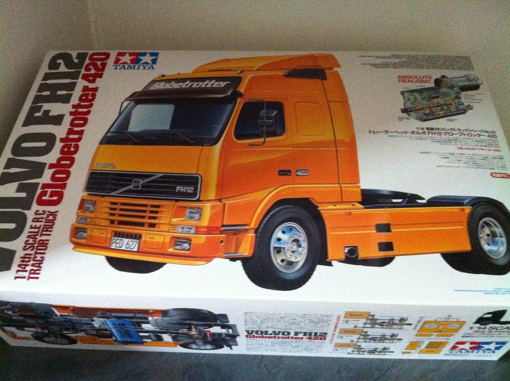 Otra sueca en Luxemburgo: esta vez un Volvo FH12 15166612799_42c43a979f_b