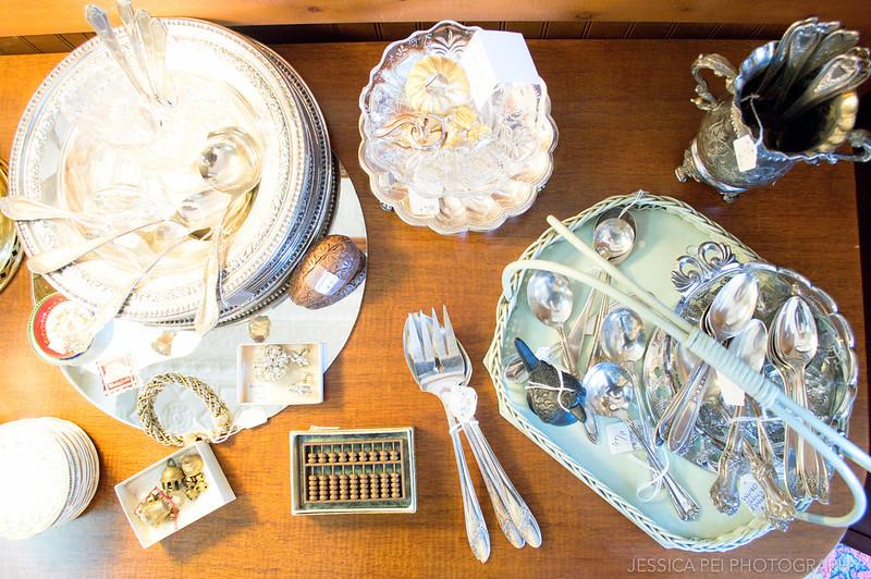 vintage forks spoons silverware