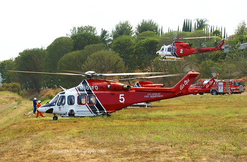LAFD Copters
