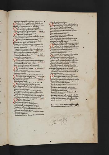 Ownership inscriptions in Thomas Aquinas: Summa theologiae