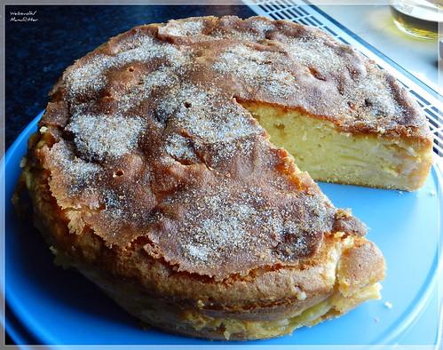 Apfel-Schichtkuchen