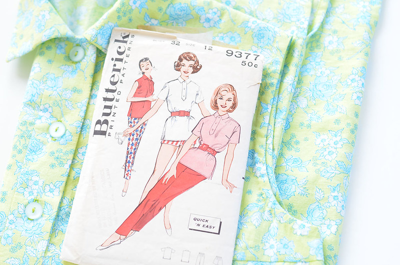 vintage butterick 9377 by marie gardeski, on Flickr