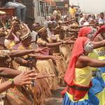 Amani Festival 2014 - Spectacle de rue pour annoncer le festival