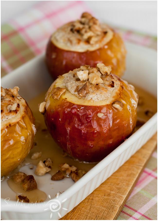 Varške įdaryti kepti obuoliai (1)
