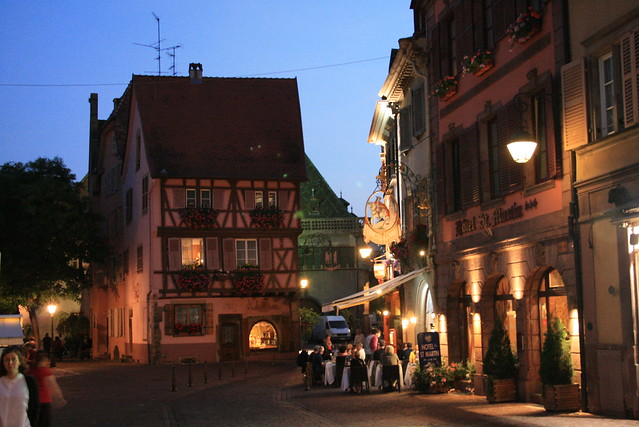 Rue de Colmar (Night) (II)