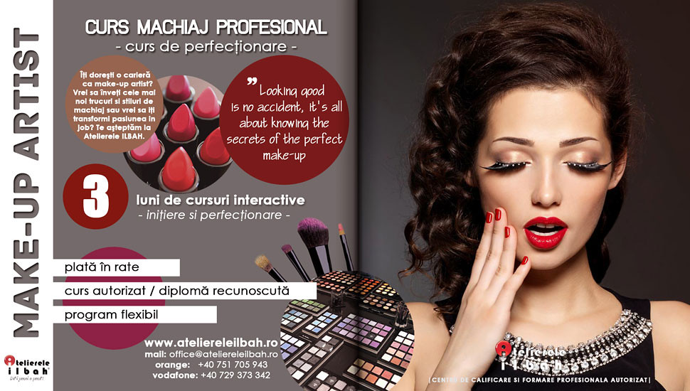 Curs Machiaj Profesional Makeup Atelierele Ilbah Sweetaspaprika