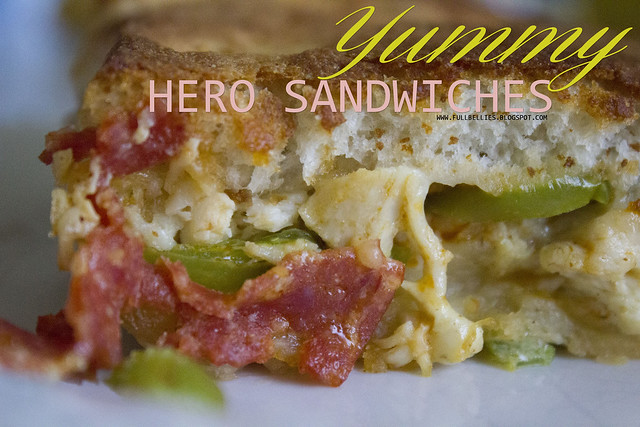 Yummy Hero Sandwiches
