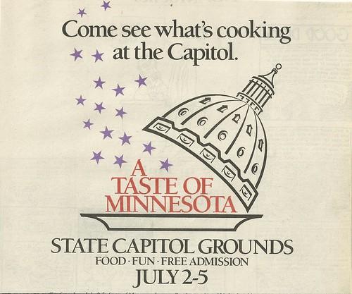 07/02 - 05/87 Taste of Minnesota 1987 (Ad-Top)