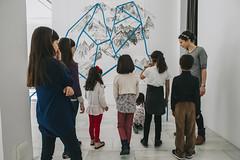 Taller infantil 'Creando paisajes' en la Sala de Arte Joven
