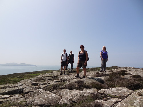 Heading off after lunch on St Davids Head