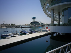 Yas Island Marina and Viceroy Hotel