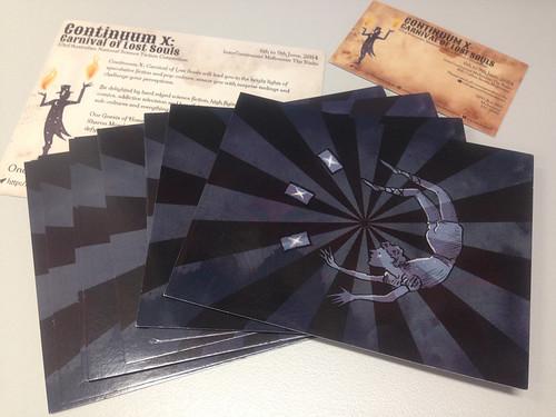 Postcards for Continuum X