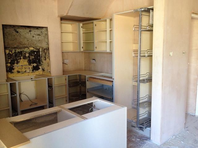 In progress kitchen