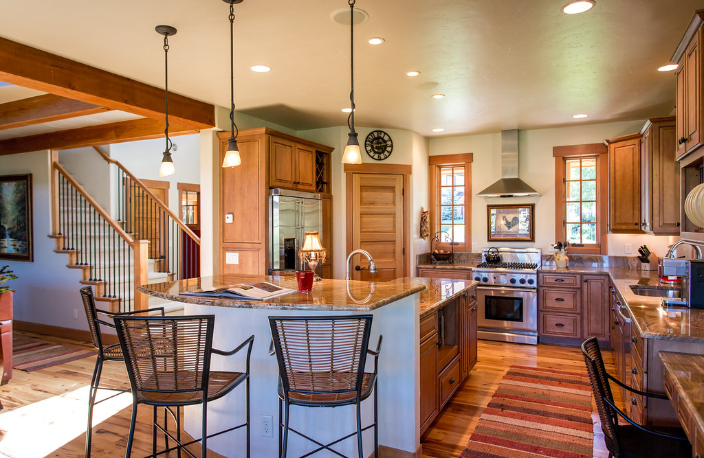 granite, stainless steel appliances, Steamboat mountain home for sale