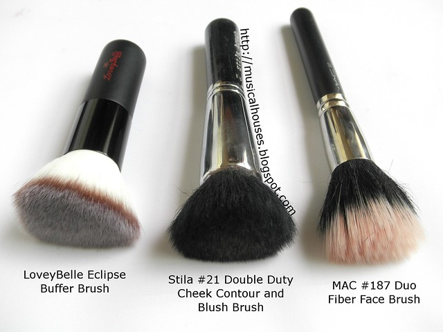LoveyBelle MAC Stila Flat Top Powder Blush Buffer Brush (2)