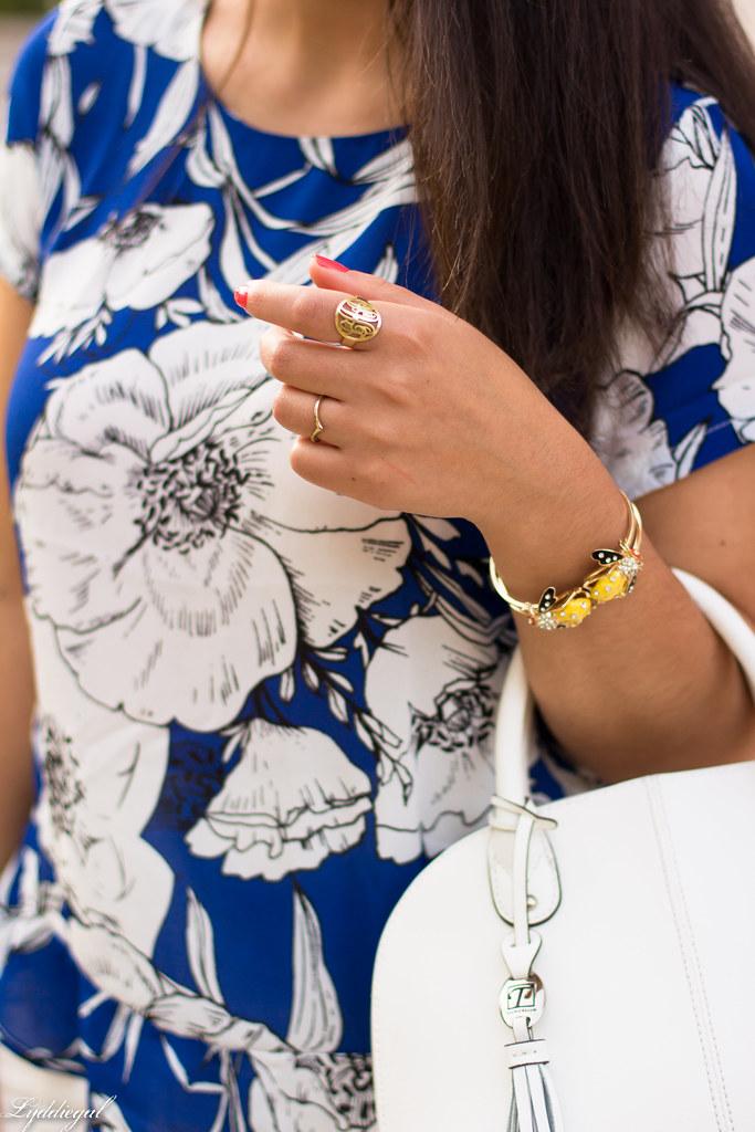 blue floral blouse, white pencil skirt-5.jpg