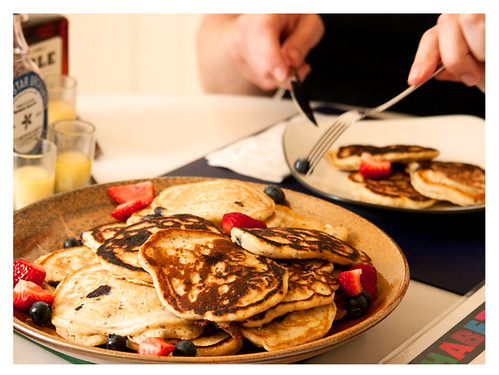 Make ahead Pancakes for an Effortless Breakfast