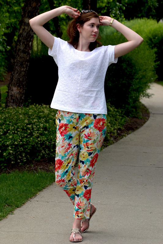 belcarra and floral pants 2